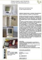 Datenblatt Funkthermometer