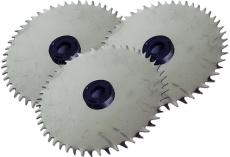 3x Ersatzsägeblätter aus Edelstahl für Akkuknochensäge RS2 + RS3 + RS3 Pro, nicht rostendes Sägeblatt