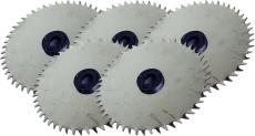 5x Ersatzsägeblätter aus Edelstahl für Akkuknochensäge RS2 + RS3 + RS3 Pro, nicht rostendes Sägeblatt