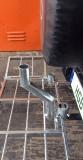Aufsatzrohr für Geländewagen mit Ersatzrad an der Heckklappe als Zubehör zu unserem Wildträger 250