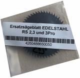 Ersatzsägeblatt für Akkuknochensäge  RS2 + RS3 + RS3 Pro, nicht rostendes Sägeblatt