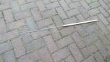 1x Grillspieß klein, 2-Zack